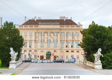 Mueums Quartier Building In Vienna