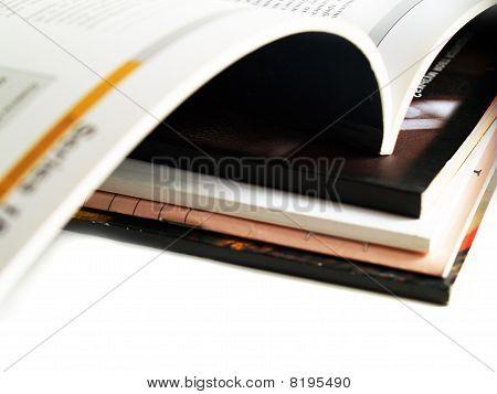 Stack Of Magazines
