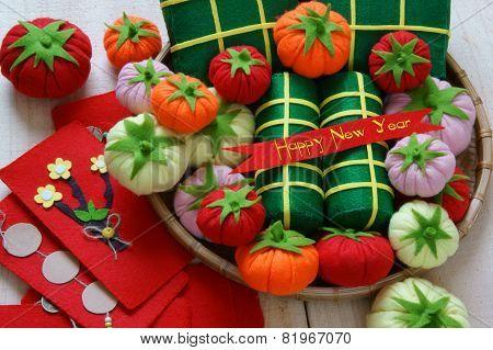 Vietnam Tet, Banh Tet, Banh Chung, Happy New Year
