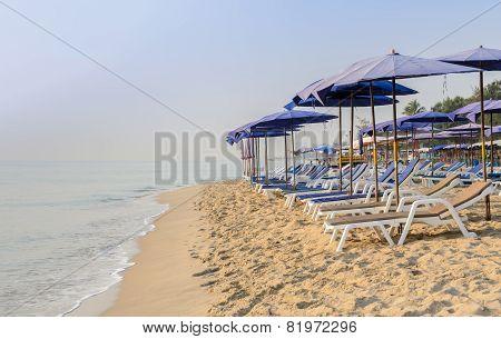 Cha-am Beach In Thailand