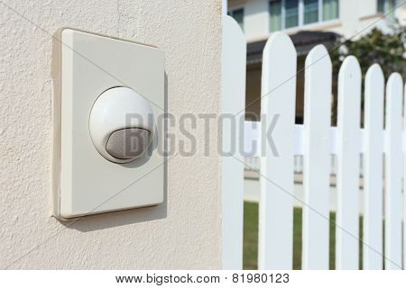 Doorbell White Modern Style For The House
