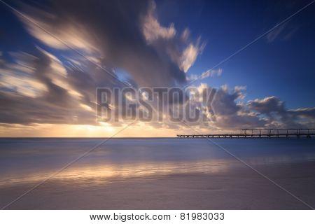 Early Morning At The Australian Beach