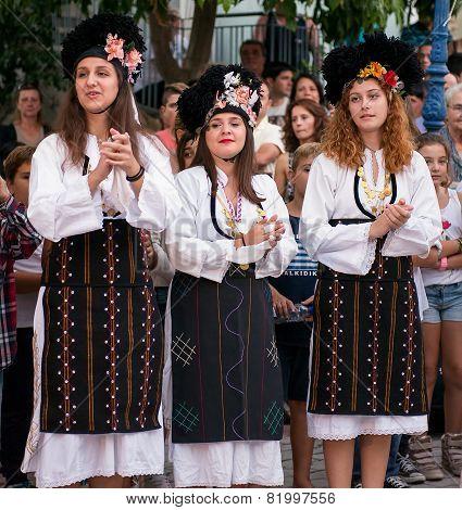 Female Greek Dancers