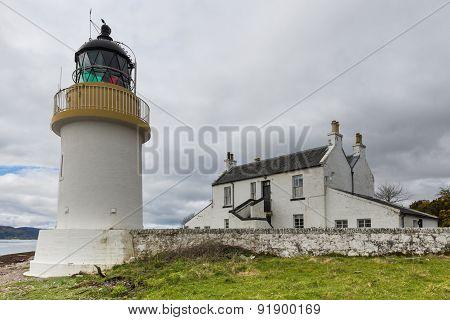 Lighthouse At  Corran