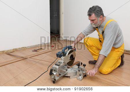 Laminate Flooring Of Room