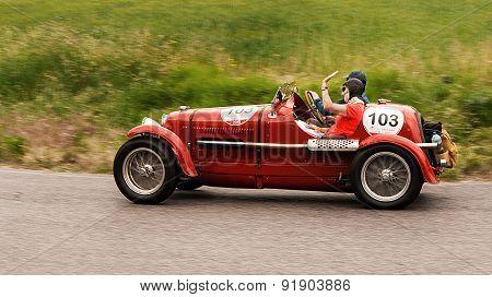 old car MASERATI 4 CS 1500 1934  mille miglia 2015