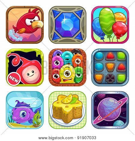 App Store Game Icons