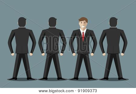 Businessmen Standing