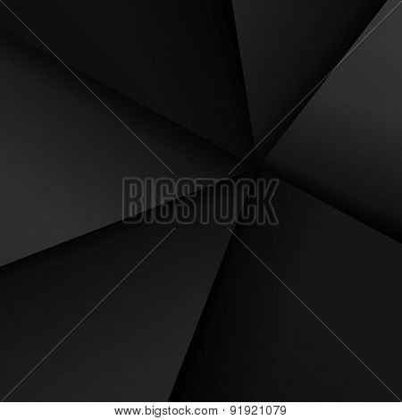 Dark Paper Abstract Geometric Background