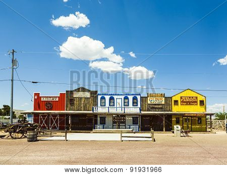 The Historic Seligman Depot On Route 66