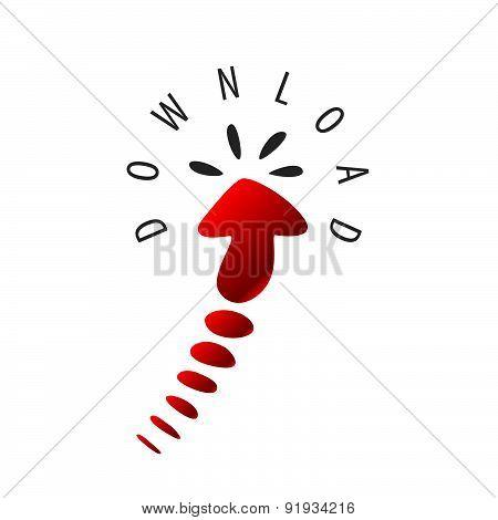 Vector Logo Arrow Cursor To Download