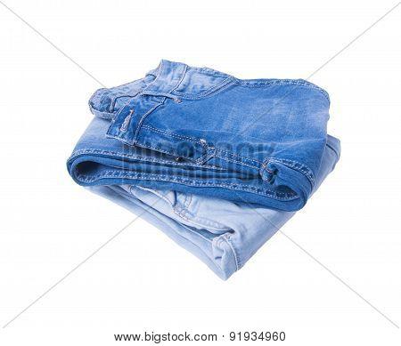 Jeans. Jeans On Background. Jeans On A Background.