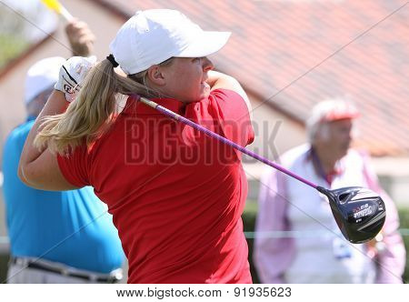 Caroline Hedwall At The Ana Inspiration Golf Tournament 2015