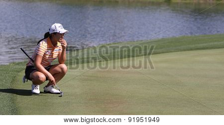 Sei Young Kim At The Ana Inspiration Golf Tournament 2015