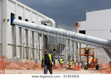 Waste Plant Outside Process Workers