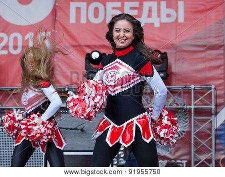 Cheerleaders Of Spartak Team