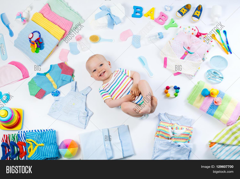 Baby On White Image & Photo (Free Trial)   Bigstock