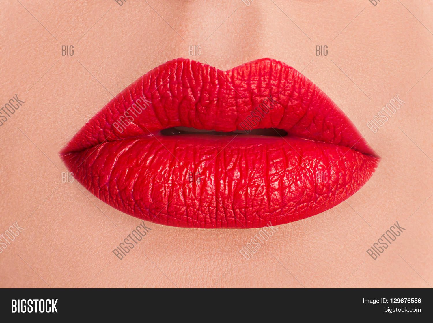 Sexy Lips Beauty Red Image Photo Free Trial Bigstock