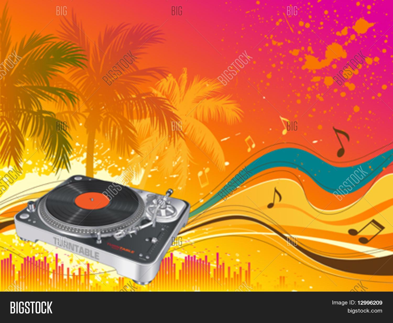 beach party vector musical vector amp photo bigstock