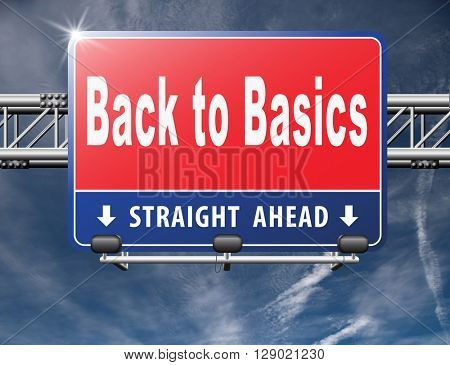 Back to basics to the beginning, keep it simple and basic primitive simplicity, road sign billboard.