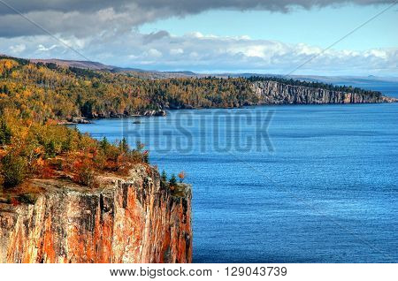 Autumn at Palisade Head, Tettegouche State Park, Minnesota