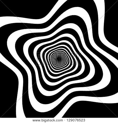 Abstract Spirally Background / Element.