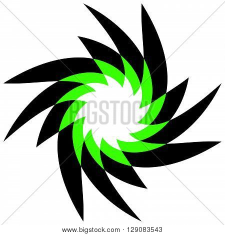 Abstract Spirally, Geometric Motif