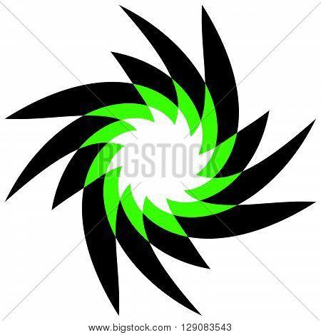 Abstract Spirally, Geometric Motif
