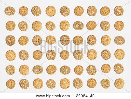 oat and honey cookies