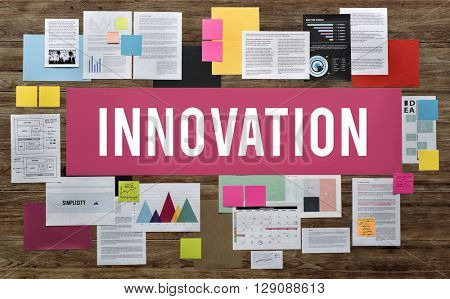Innovation Creative Design Futurism Imagination Concept