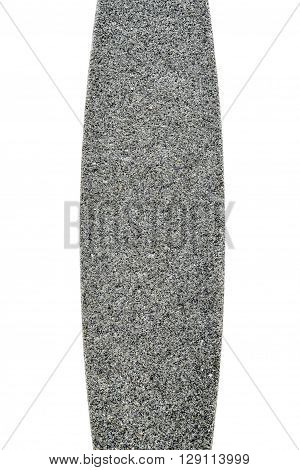 Texture Of Grindstone Or Whetstone Sharpener On White Background