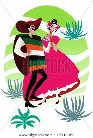Couple mexicain