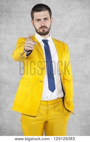 Businessman Wants You