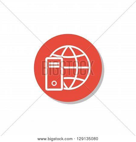 Hardware Internet Icon In Vector Format. Premium Quality Hardware Internet Symbol. Web Graphic Hardw