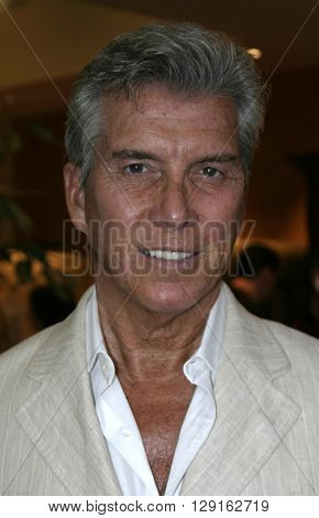 Michael Buffer at the Grand Opening of Porta Bella in Beverly Hills, USA on September 2, 2005.