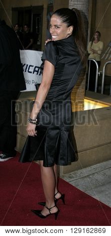 """Ana Claudia Talancon at the Los Angeles premiere of """"Matando Cabos"""" held at the Eygptian Theatre in Hollywood, USA on on August 22, 2005."""