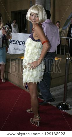 "Bai Ling at the Los Angeles premiere of ""Matando Cabos"" held at the Eygptian Theatre in Hollywood, USA on on August 22, 2005."
