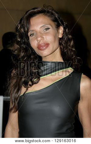 """Pietra Thornton at the Los Angeles premiere of """"Matando Cabos"""" held at the Eygptian Theatre in Hollywood, USA on on August 22, 2005."""