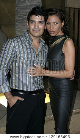 Pietra Thornton and Antonio Rufino at the Los Angeles premiere of