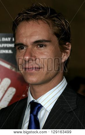 "Tony Dalton at the Los Angeles premiere of ""Matando Cabos"" held at the Egyptian Theatre in Hollywood, USA on August 22, 2005."
