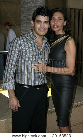 "Pietra Thornton and Antonio Rufino at the Los Angeles premiere of ""Matando Cabos"" held at the Egyptian Theatre in Hollywood, USA on August 22, 2005."