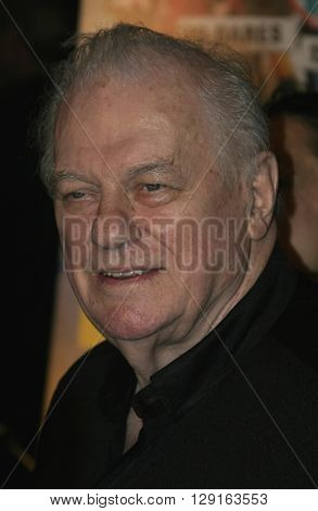 "Charles Durning at the World premiere of ""Dirty Deeds"" held at the DGA Theatre in Hollywood, USA on August 24, 2005."