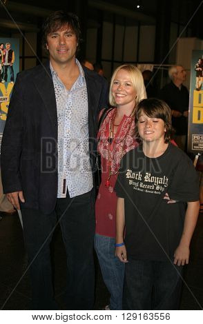 """Todd Zeile at the World premiere of """"Dirty Deeds"""" held at the DGA Theatre in Hollywood, USA on August 24, 2005."""