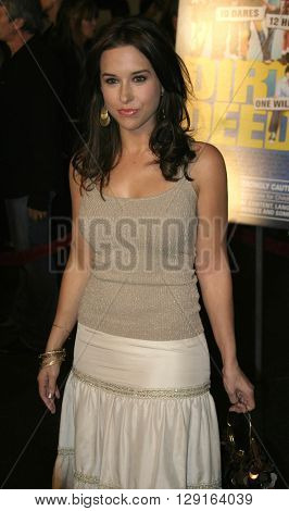 Lacey Chabert at the World premiere of