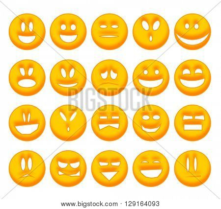 Collection smiley