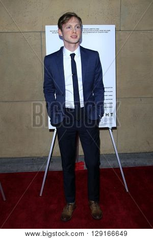 LOS ANGELES - MAR 22:  Josh Brady at the I Saw the Light LA Premiere at the Egyptian Theatre on March 22, 2016 in Los Angeles, CA