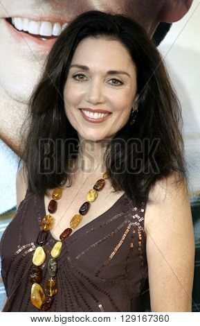 """Stepfanie Kramer at the Los Angeles premiere of """"The 40 Year-Old Virgin"""" held at the ArcLight Theatre in Hollywood, USA on August 11, 2005."""