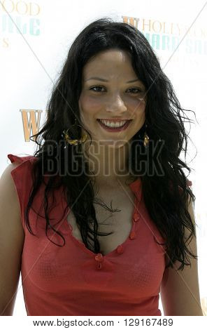 Navi Rawat at the W Magazine Hollywood Yard Sale held at the W Mag in Los Angeles, USA on September 12, 2004.