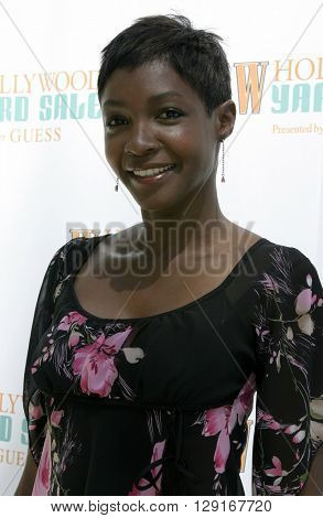 Roshumba Williams at the W Magazine Hollywood Yard Sale held at the W Mag in Los Angeles, USA on September 12, 2004.