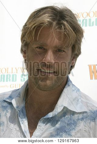 Eric Stromer at the W Magazine Hollywood Yard Sale held at the W Mag in Los Angeles, USA on September 12, 2004.